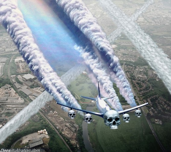 Chemtrail conspiracies